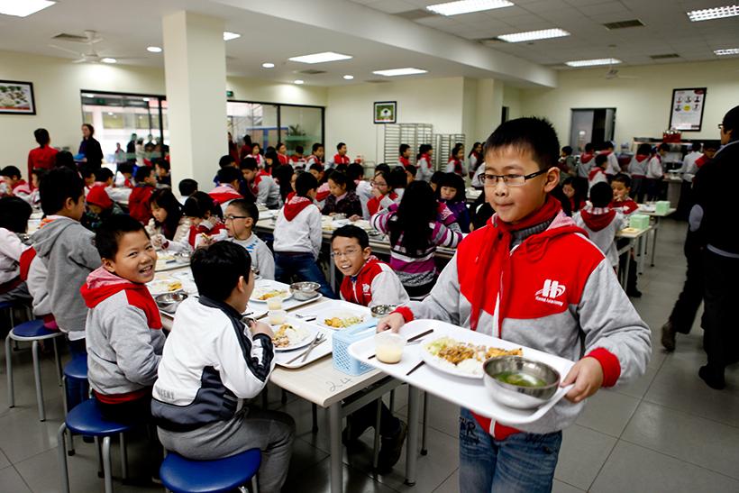 Suất Ăn Cho Trường Trung Học Cơ Sở