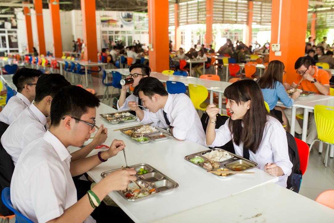 Suất Ăn Cho Trường Trung Học Phổ Thông